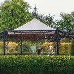 Pavillon Wetterschutz